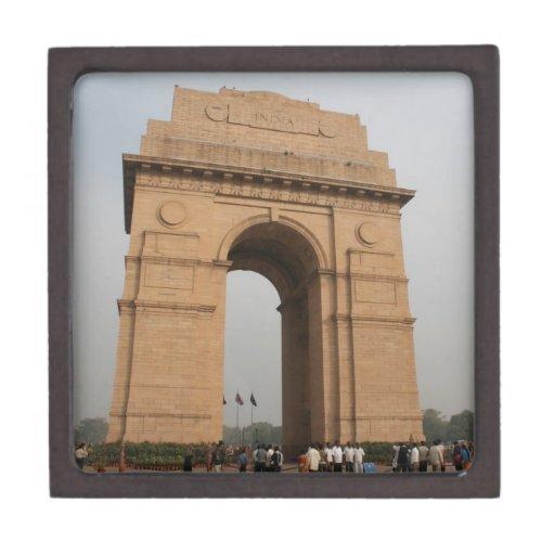 Puerta Delhi de la India Cajas De Joyas De Calidad