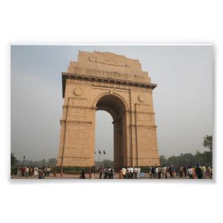 Puerta Delhi de la India Impresion Fotografica