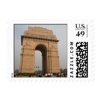 Puerta Delhi de la India Sello