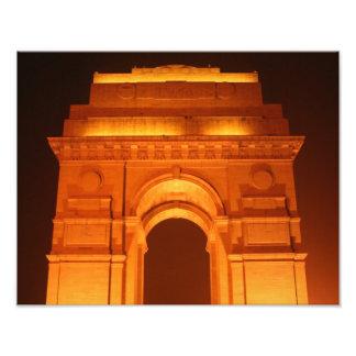 Puerta Delhi la India de la India Impresiones Fotográficas