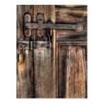 Puerta - el cierre postal