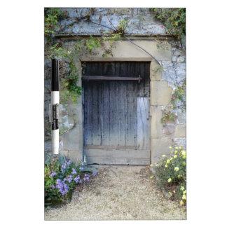 Puerta en Haddon Pasillo en Derbyshire Tablero Blanco