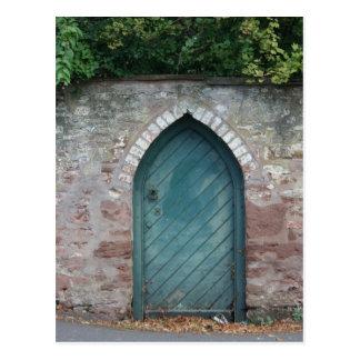 Puerta en los obispos Lydeard, Somerset, Reino Tarjeta Postal