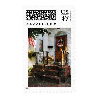 Puerta en sol Dappled Timbre Postal