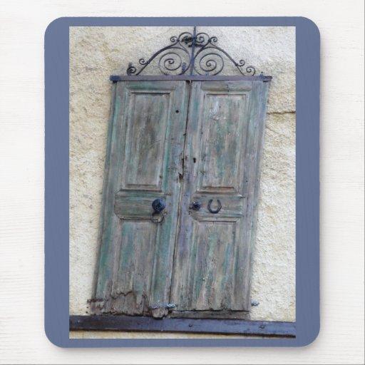 Puerta griega Mousepad Alfombrilla De Ratón