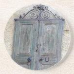 Puerta griega posavaso para bebida
