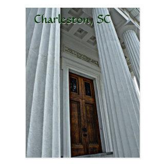 Puerta impresionante, Charleston, postal del SC