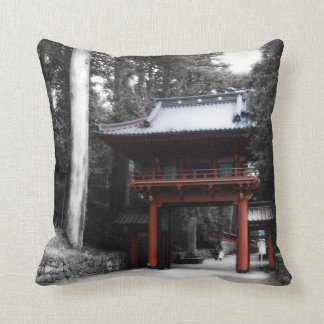 Puerta japonesa antigua cojines