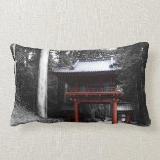 Puerta japonesa antigua cojin