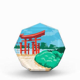 Puerta japonesa WPA de Torii