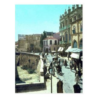 Puerta Jerusalén Israel 1950 - 1977 de Jaffa del Postales