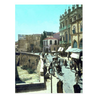 Puerta Jerusalén Israel 1950 - 1977 de Jaffa del v Tarjetas Postales