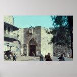 Puerta Jerusalén Israel 1950 - 77 de Jaffa del vin Posters