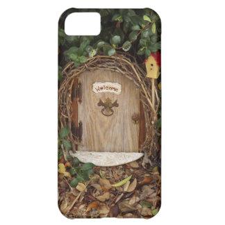 Puerta mística del jardín del gnomo funda para iPhone 5C