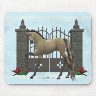 Puerta Mousepad del unicornio
