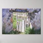 Puerta romana impresiones