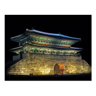 Puerta Seul de Namdaemun Tarjetas Postales