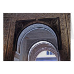 Puerta triple de Alhambra Felicitaciones