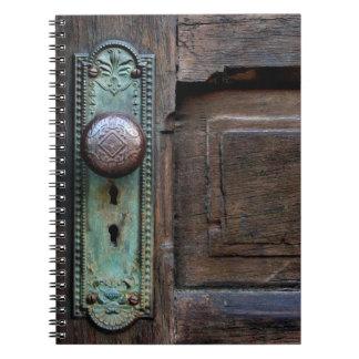 Puerta vieja libro de apuntes