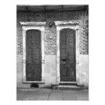 Puerta y ventana - fotografía de la bella arte