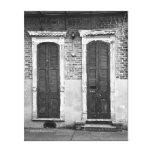 Puerta y ventana impresiones en lona