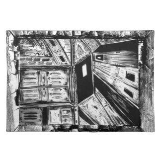 Puertas abiertas manteles individuales