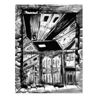 Puertas abiertas tarjeta postal
