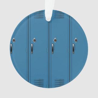 Puertas azules del armario