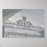 Puertas de Anfield de Liverpool FC Póster