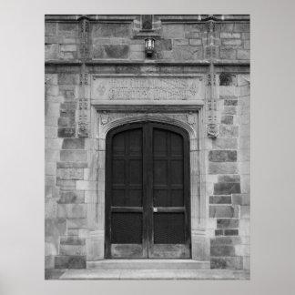 Puertas de Ann Arbor Michigan Póster