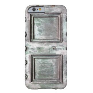 Puertas de bronce para su caso del iPhone 6 Funda Para iPhone 6 Barely There