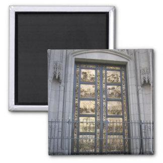 Puertas de Ghiberti Imán Cuadrado
