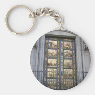 Puertas de Ghiberti Llavero Redondo Tipo Pin