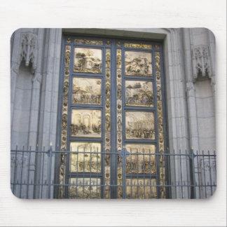 Puertas de Ghiberti Tapete De Ratón