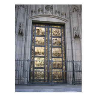 Puertas de Ghiberti Postal