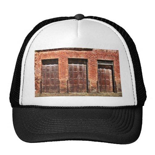 Puertas de granero gorra