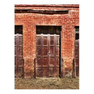 Puertas de granero tarjeta postal