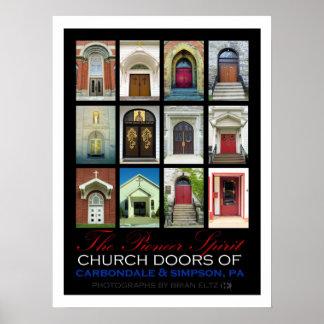 Puertas de la iglesia de Carbondale y de Simpson,  Impresiones
