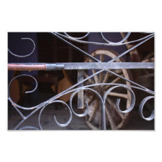 Puertas de madera románticas fotografías