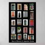 Puertas de St Augustine histórico, la Florida Impresiones