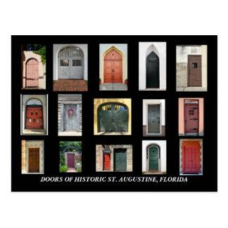 Puertas de St Augustine histórico, la Florida Postal