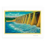 Puertas del aliviadero en la presa de Bonneville Postales