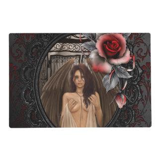 Puertas del ángel tapete individual