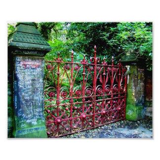 Puertas del campo de la fresa, Liverpool, Reino Fotografía