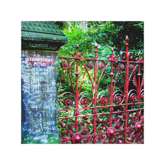Puertas del campo de la fresa, Liverpool, Reino Lienzo Envuelto Para Galerias