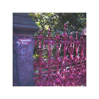 Puertas del campo de la fresa, Liverpool, Reino Lona Envuelta Para Galerias