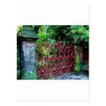 Puertas del campo de la fresa, Liverpool Reino Uni Tarjetas Postales