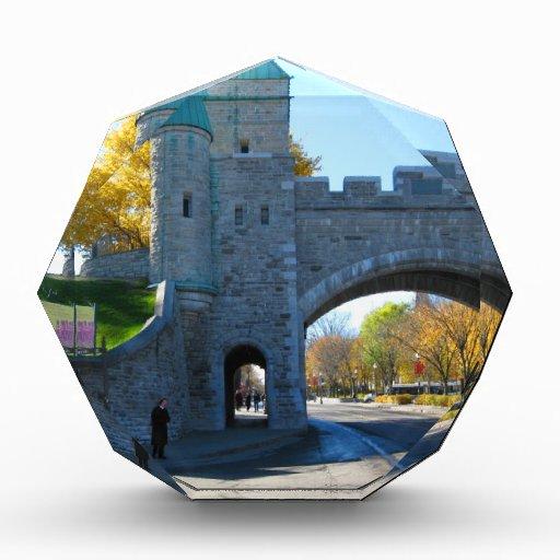 Puertas del castillo de la ciudad de Quebec Canadá