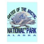 Puertas del parque nacional ártico, Alaska Postal