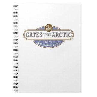 Puertas del parque nacional ártico libreta